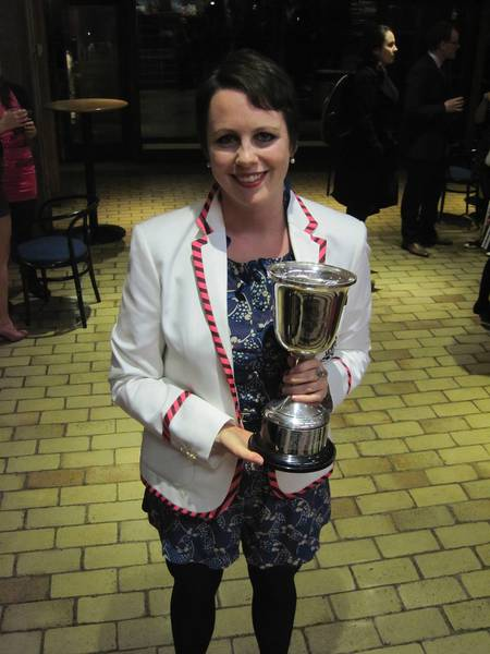 Kat Wood, CHUBC Captain 2012-13